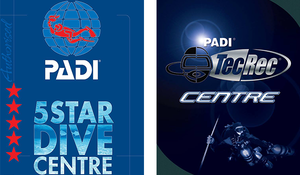 PADI-5-Star-Dive-Center-and-PADI-TecRec-Center CENTRUM NURKOWE AQUAMATIC