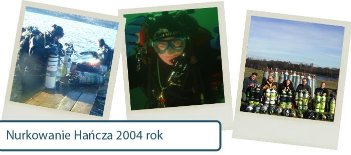 aquamatic historia nurkowanie hancza 2014