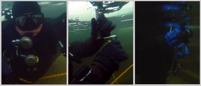 nurkowanie podlodowe sprzęt do nurkowania
