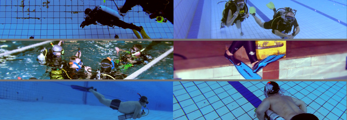 basen nurkowanie